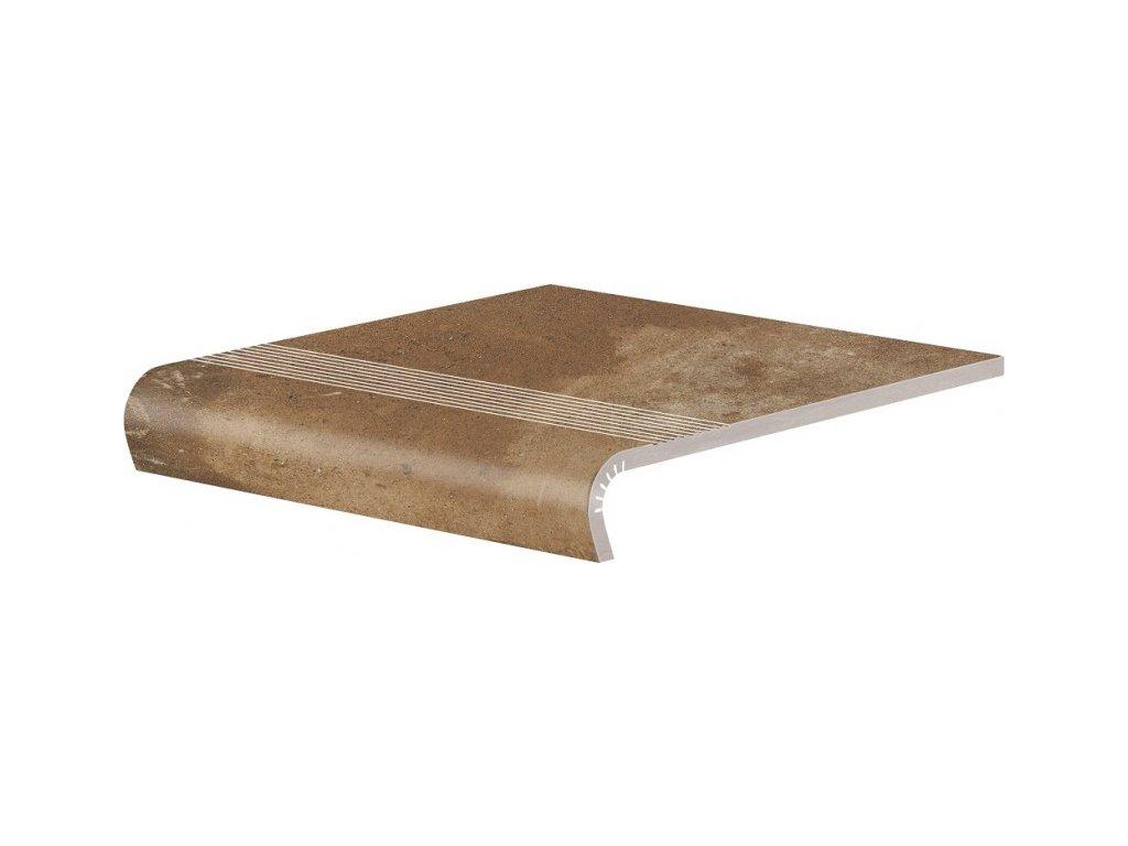 Keramická Dlažba Cerrad Piatto Terra Schodovka V-Shape 32x30 cm