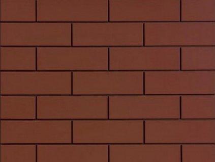 100760 20778 fasadni obklad burgund hladky 24 5x6 5 1