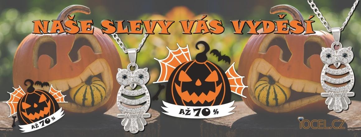 Halloween ve znamení AKCE A SLEVY