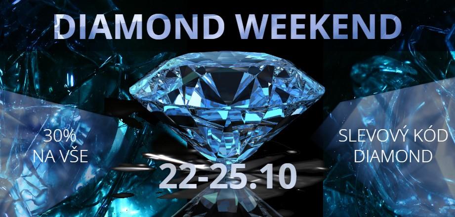 Diamond weekend, diamantové slevy na iocel.cz