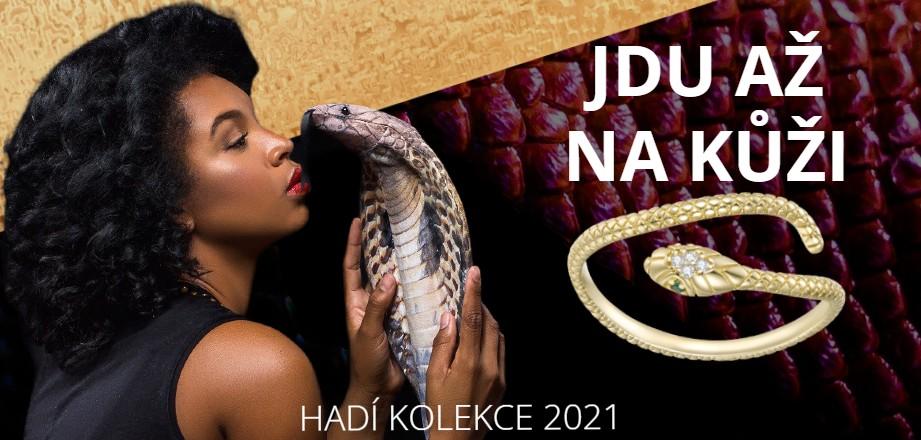 Šperky s motivem hadů