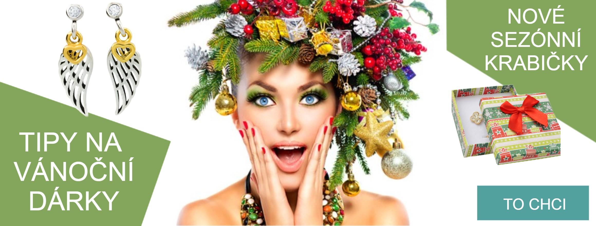 Tipy na vánoční dárky: Šperky a sezónní krabičky