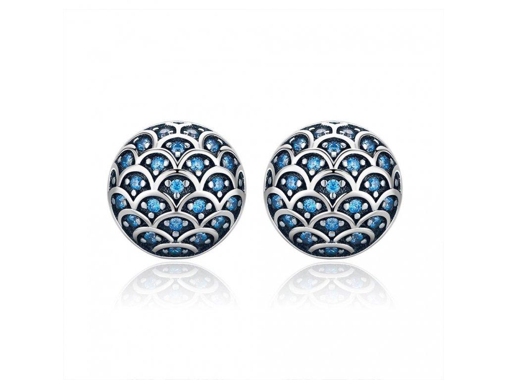 stribrne-nausnice-pecky-blue-scales-ag-925-1000