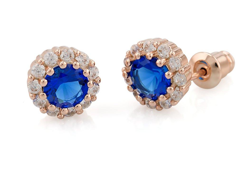 nausnice-bizuterie-classic-blue