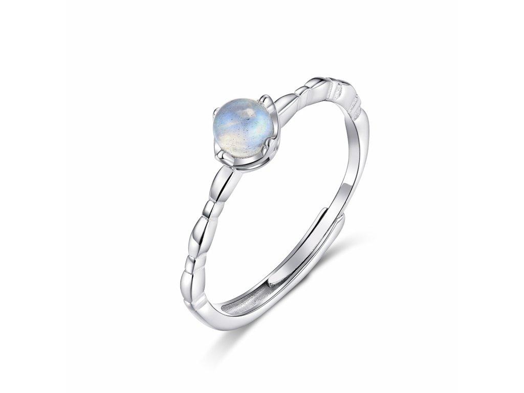 Stribrny prsten mesicni kralovna