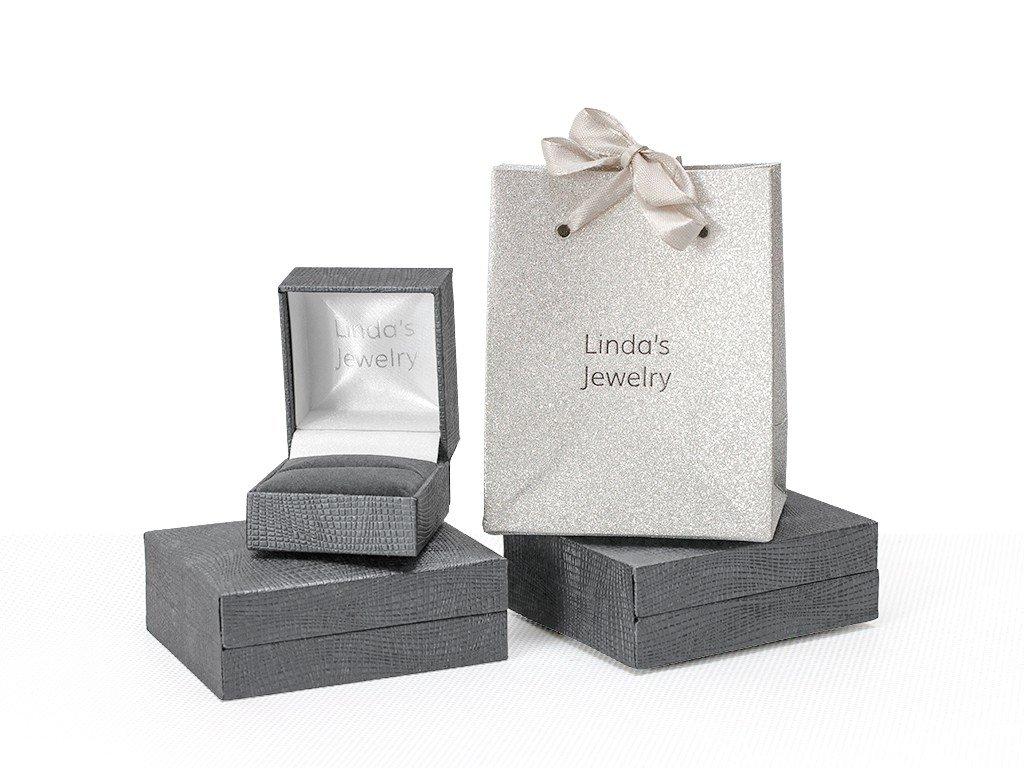 luxusni darkove baleni na prsten nebo nausnice