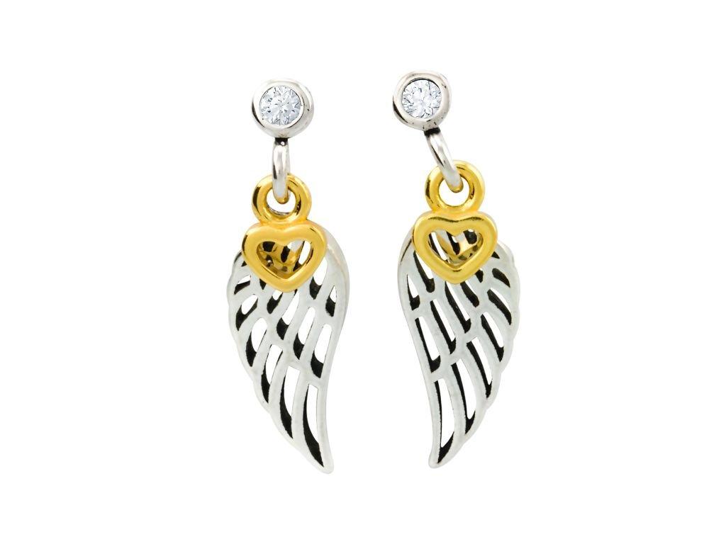 stribrne-nausnice-pecky-angel-wings-love