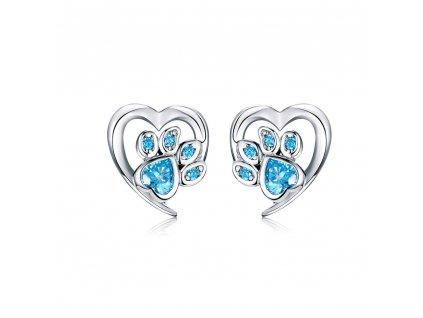 stribrne-nausnice-pecky-love-pets-blue-ag-925-1000