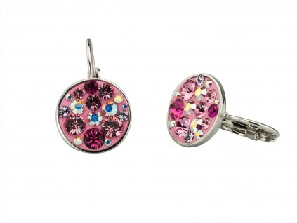 nausnice-swarovski-elements-pink-mix
