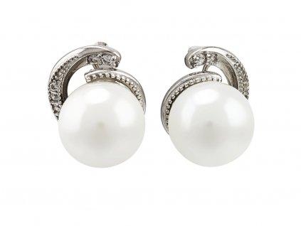 stribrne-nausnice-perla-spirala