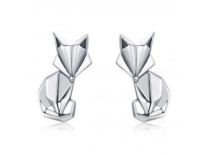 stribrne-nausnice-foxy-liska-ag-925-1000-skladane-origami