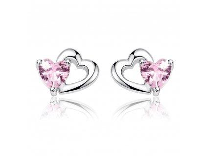 stribrne-nausnice-pecky-pink-love-ag-925-1000