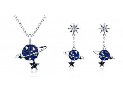 Sada šperků Měsíc a Hvězdy