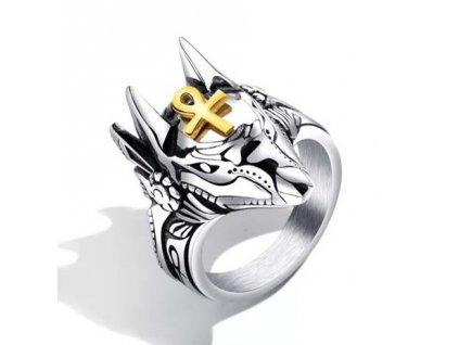 masivni-prsten-faraonsky-pes-chirurgicka-ocel