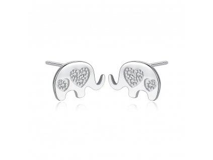 stribrne-nausnice-slon-ag-925-1000