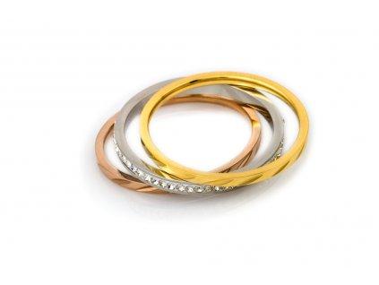 sada-prstenu-triple-simple-chirurgicka-ocel