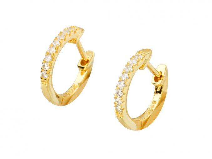 stribrne-nausnice-kruhy-elegance-zlate-male-profil