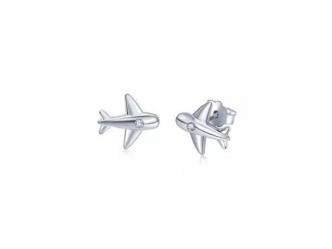 stribrne-nausnice-pecky-letadlo-air-force-1