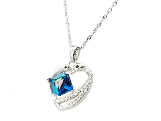 stribrny-nahrdelnik-love-blue-swarovski-elements-ag-925-1000
