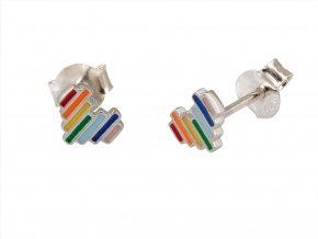 stribrne-nausnice-pecky-8-bit-rainbow-love-ag-925-1000-bile