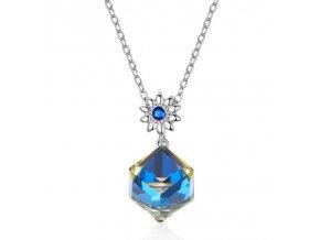 stribrny-nahrdelnik-austrian-blue-crystal-ag-925-1000
