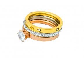 sada-prstenu-triple-shiny-chirurgicka-ocel