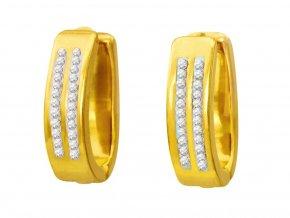 nausnice-shiny-gold-kruhy-zlate-chirurgicka-ocel