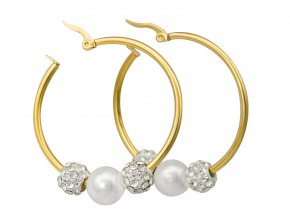 nausnice-perla-gold-kruhy-zlate-chirurgicka-ocel