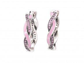 stribrne-nausnice-kruhy-shiny-propleteni-pink