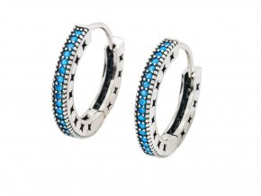 stribrne-nausnice-kruhy-blue-elegance-profil