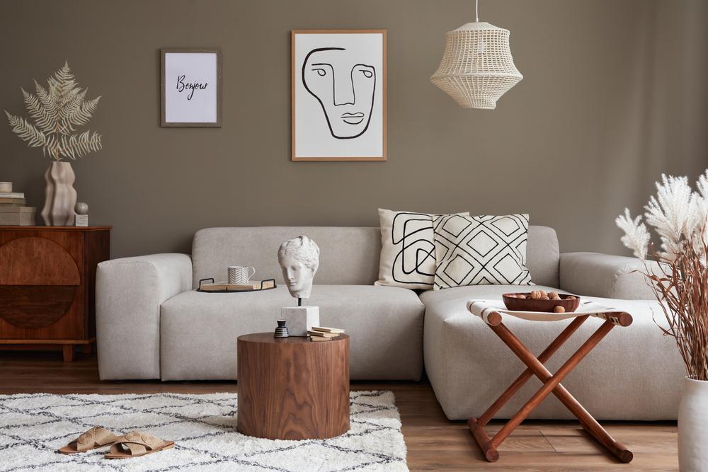 Jak si vyladit krásný obývací pokoj