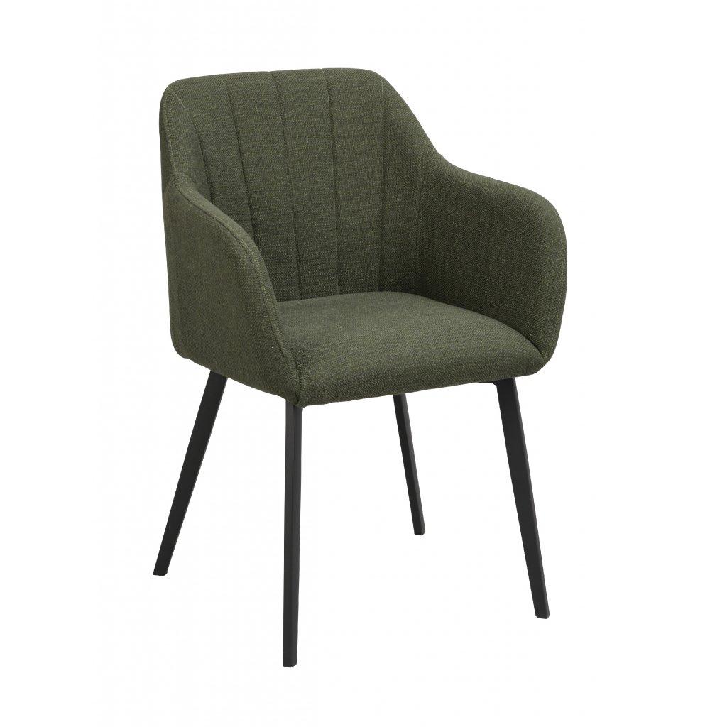 119933 b, Bolton karmstol, grön svart