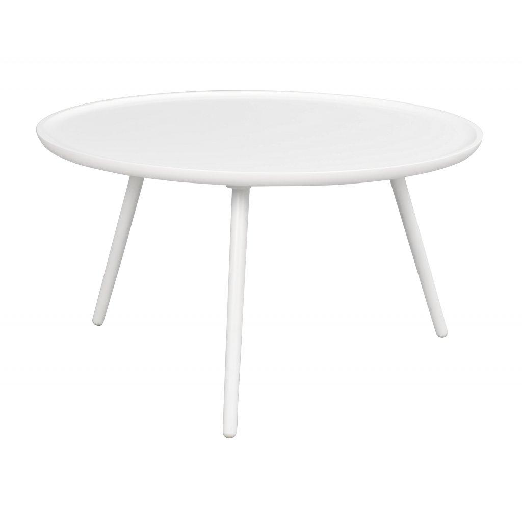 Konferenční stolek DAISY bílý (Velikost 55x55cm)