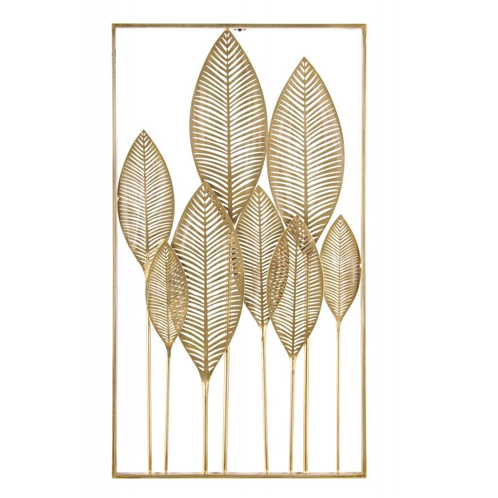 2357 4 dekorace na zed adhira zlata