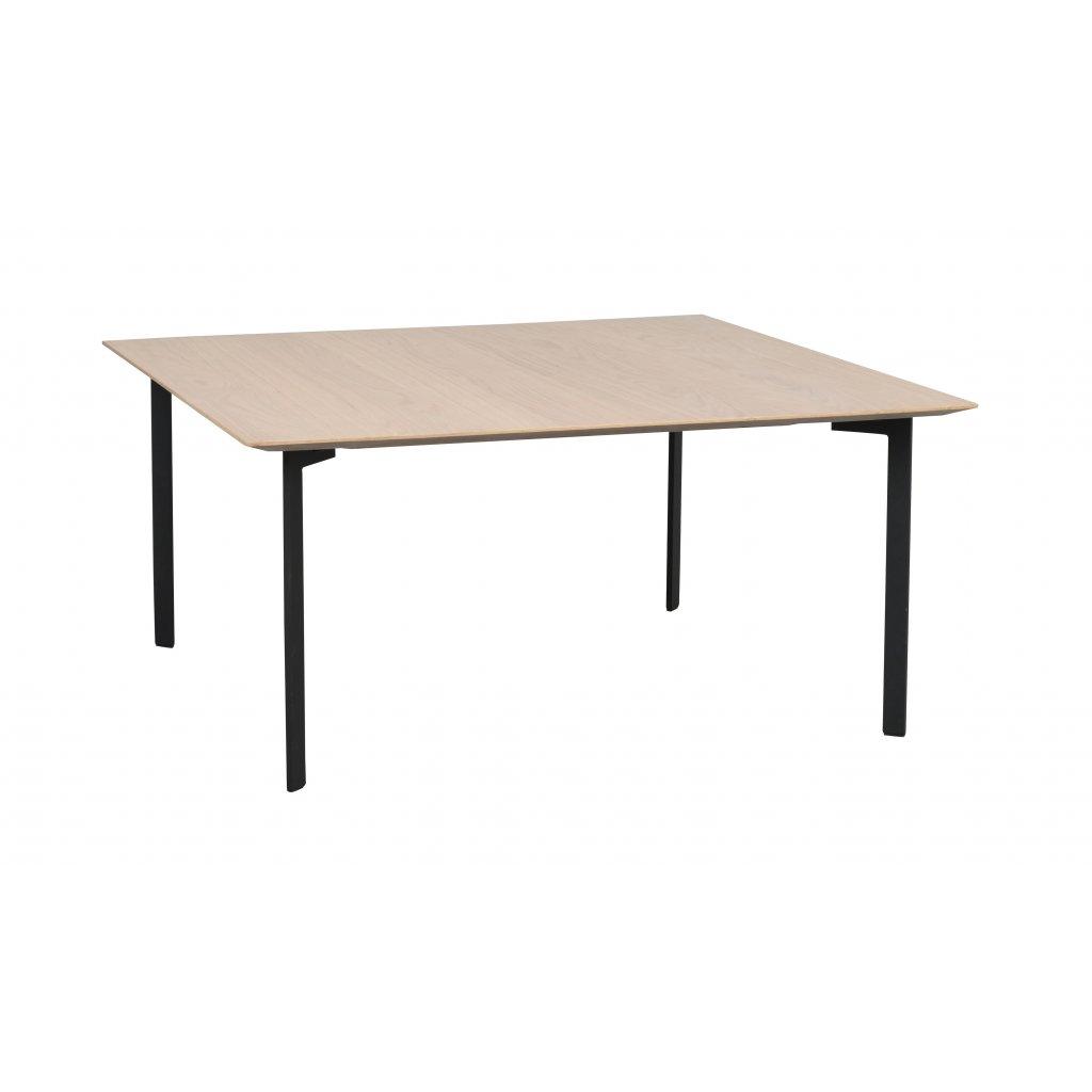 119274 b, Spencer soffbord kvadr. vitpigm. svart R