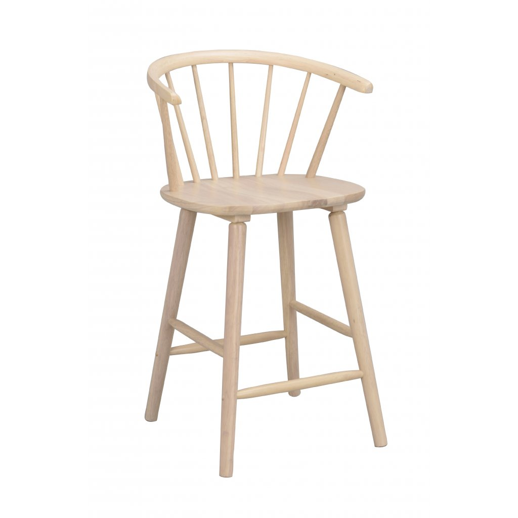 Carmen bar stool Whitewash 106262 1