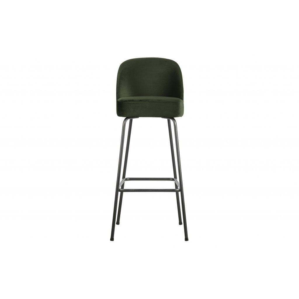 4307 barova zidle vogue zelena 80 cm