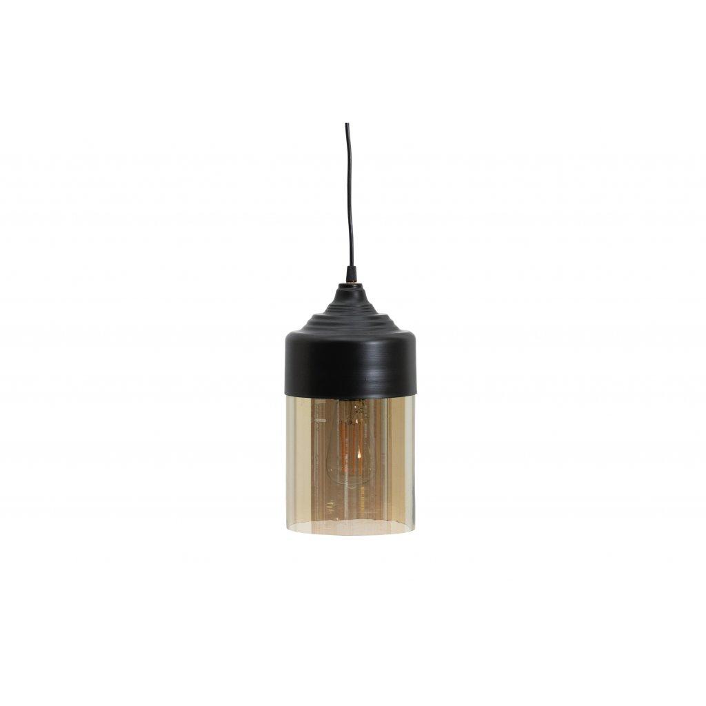 4829 1 zavesne svetlo pippa cerne 16cm