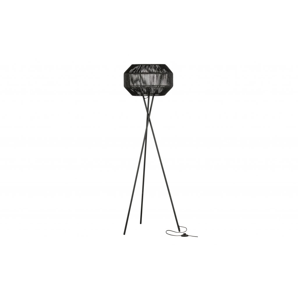 4856 5 stojaci lampa griffin cerna