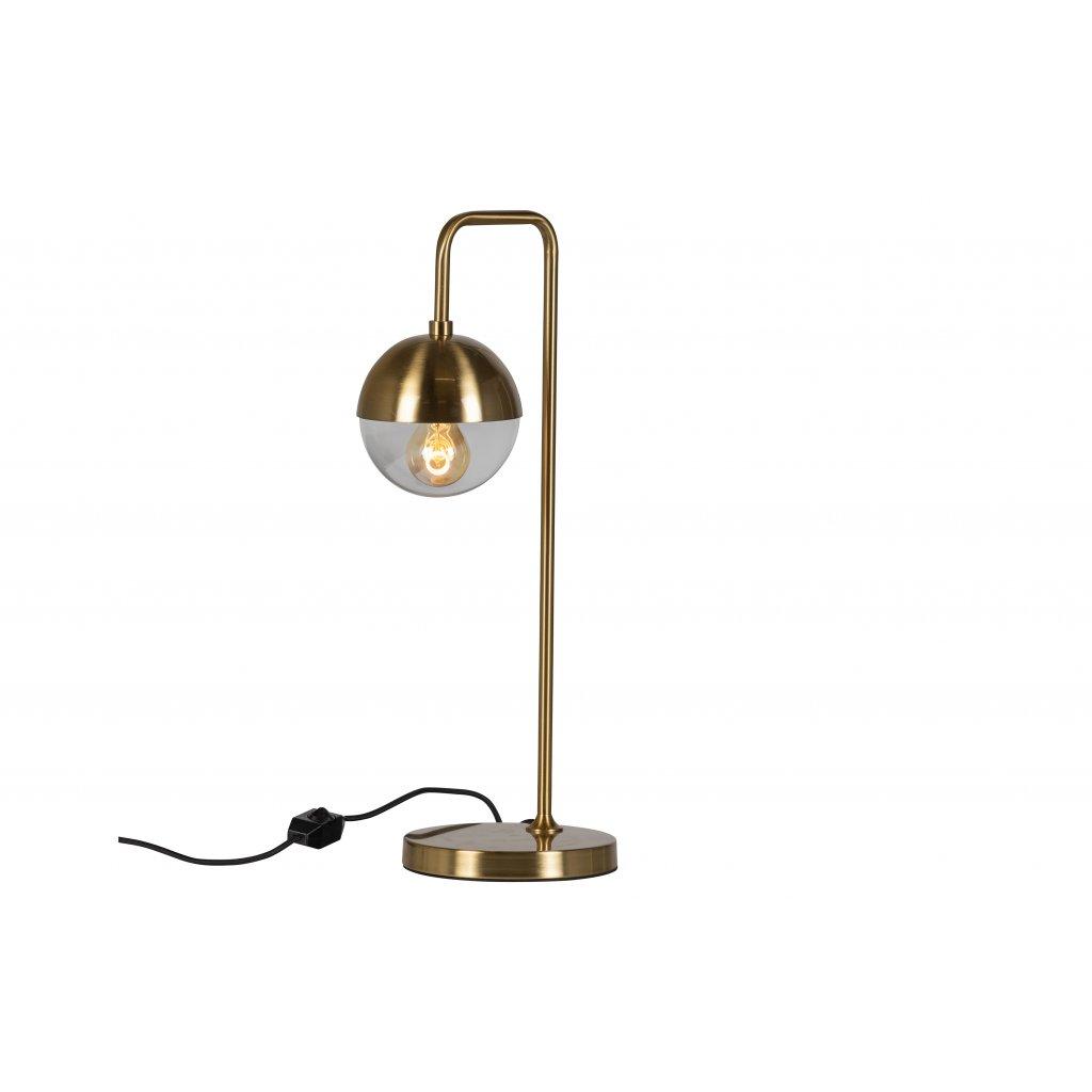 4898 3 stolni lampa kovova globular