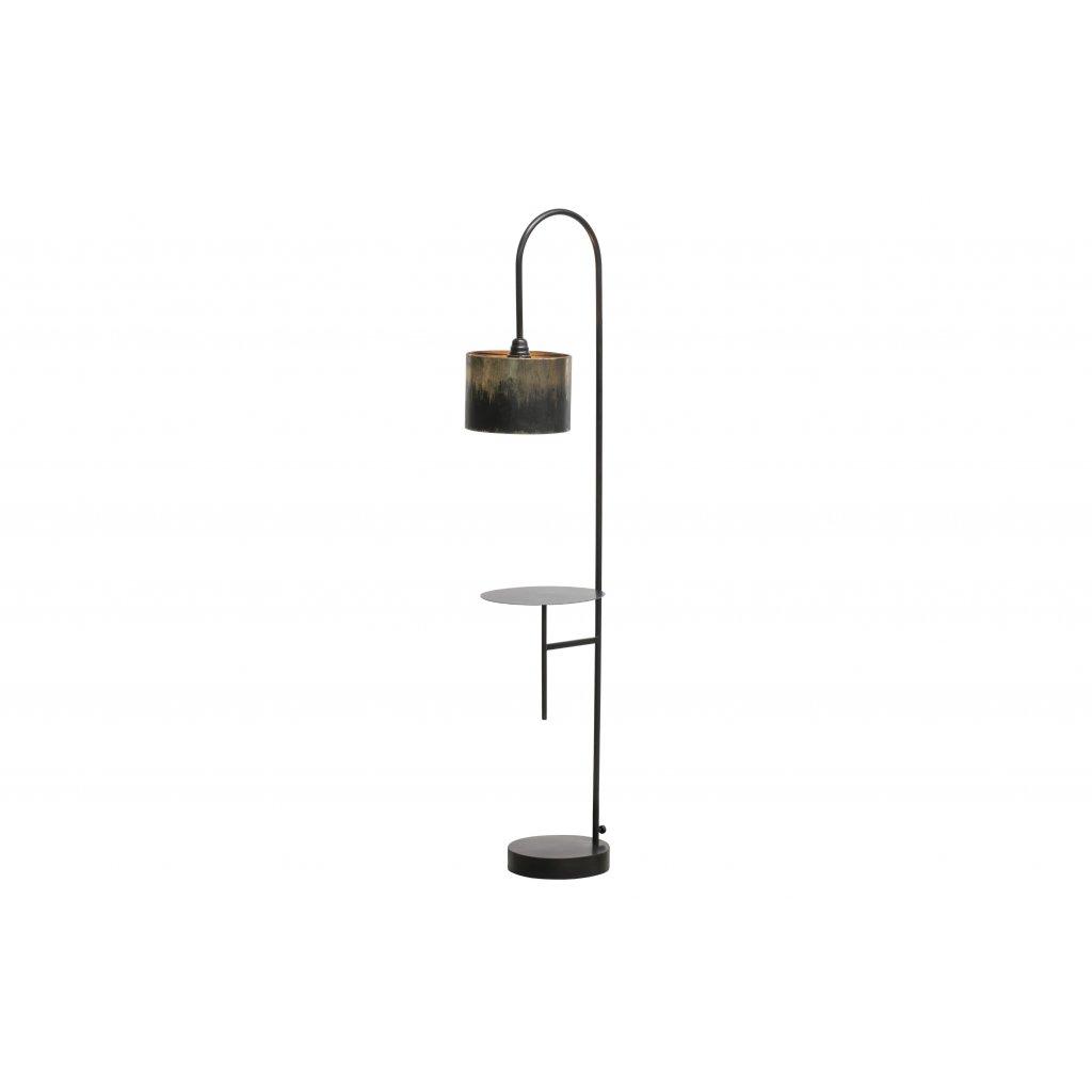 4985 1 stojaci lampa blackout cerna