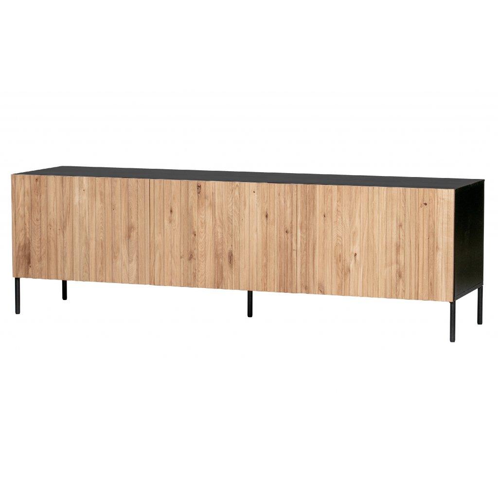 8084 2 tv stolek gravure prirodni