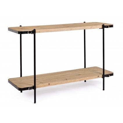 1163 3 konzolovy stolek jerrod svetly 53x122 cm