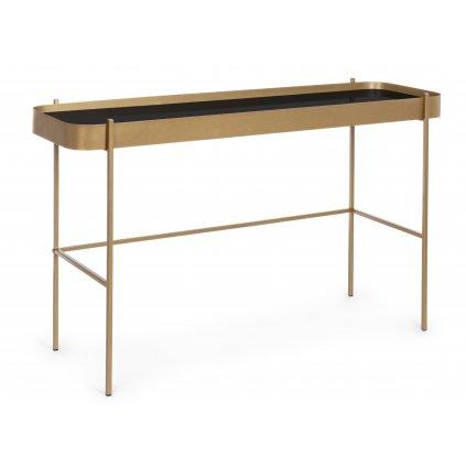 1169 3 konzolovy stolek rashida tmavy 43x120 cm