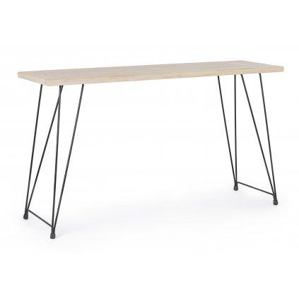 1181 3 konzolovy stolek district svetly 39x140 cm
