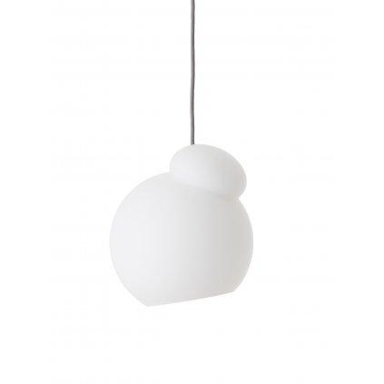 Air pendant 22 cm opal white glass