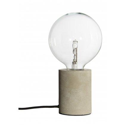 Bristol table lamp concrete 2086