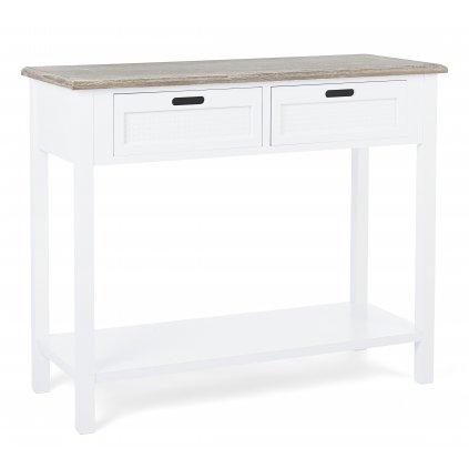 1832 3 konzolovy stolek dorotea svetly 40x100 cm