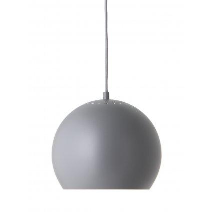 Ball pendant ø25 grey matt