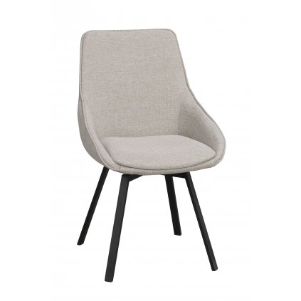 117761 b, Alison stol, beige svart R